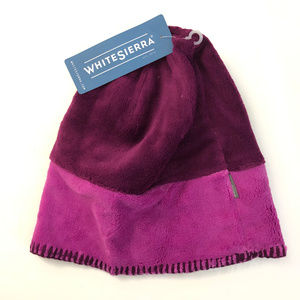 White Sierra Youth Kids Cozy Beanie Kids Purple